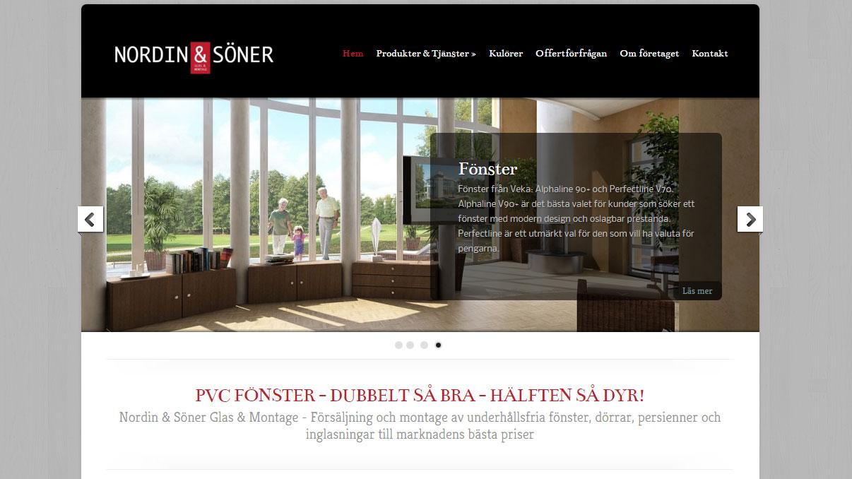 Nordin & Söner Glas & Montage