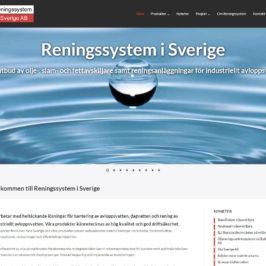 Ny referens: Reningssystem i Sverige AB